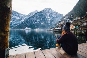 Ta en pause i vinter og slapp av i vakre omgivelser ved sjøen